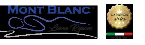Materassi ergonomici e memory form Mont Blanc Linea riposo