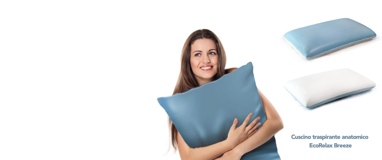 cuscino traspirante in regalo