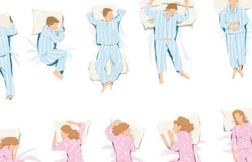 le posizioni per dormire bene
