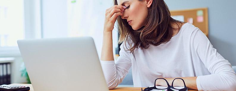 Gli effetti negativi della stanchezza