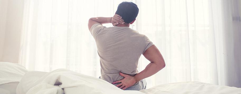 dolori cervicali dovuti alla posizione scomoda del collo sul cuscino