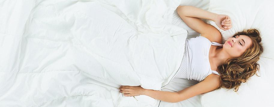 il cuscino adatto ti consente di dormire bene senza causare dolori cervicali